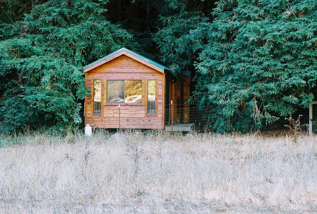 California glamping glorified camping for Big sur cabin