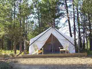 Washington Glamping - Glorified Camping