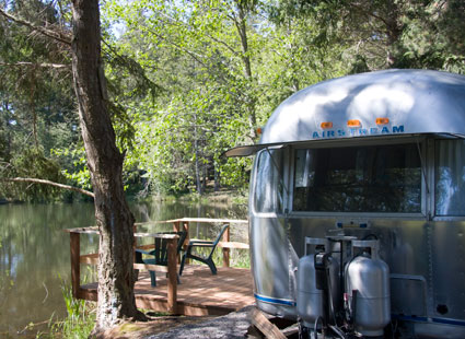 Lakedale Resort Airstream