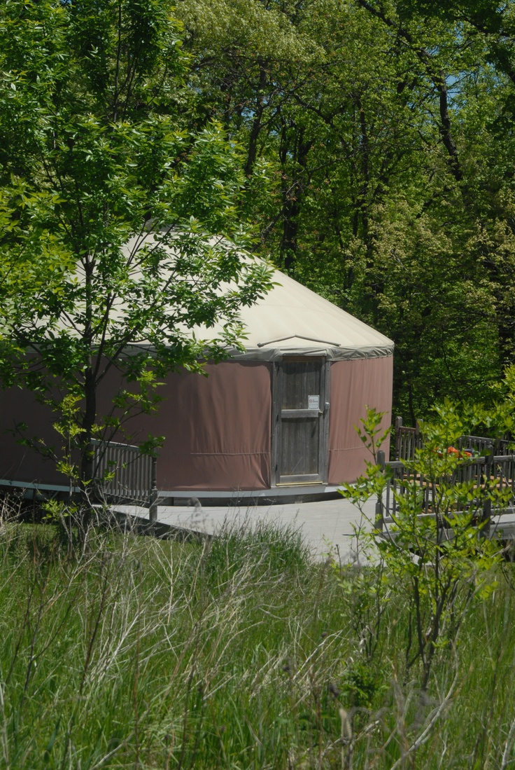 Iowa glamping glorified camping for Madison cabin rentals