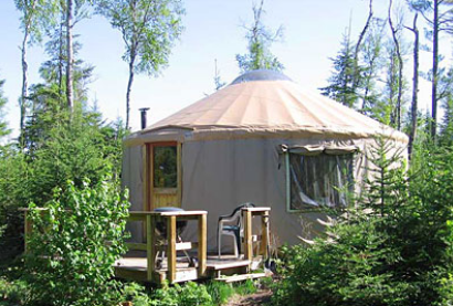 Tall Pines Yurt- Boundry Country Trekking